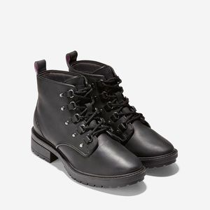 NIB Cole Haan Briana waterproof Lace-Up Hiker Boot